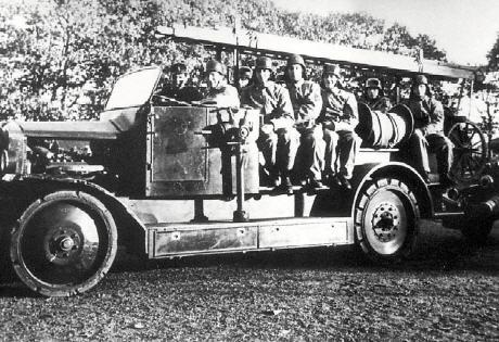 Die Feuerwehr Scherpenberg damals