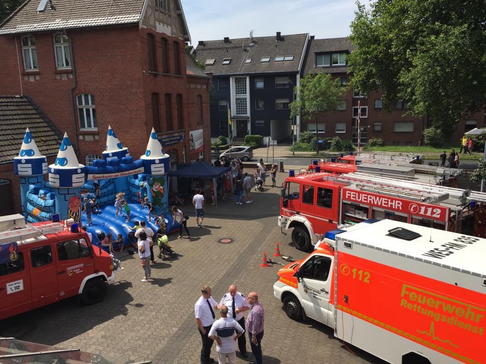 Brandschutztag: Löschzug Scherpenberg lädt am 7. Juli ein