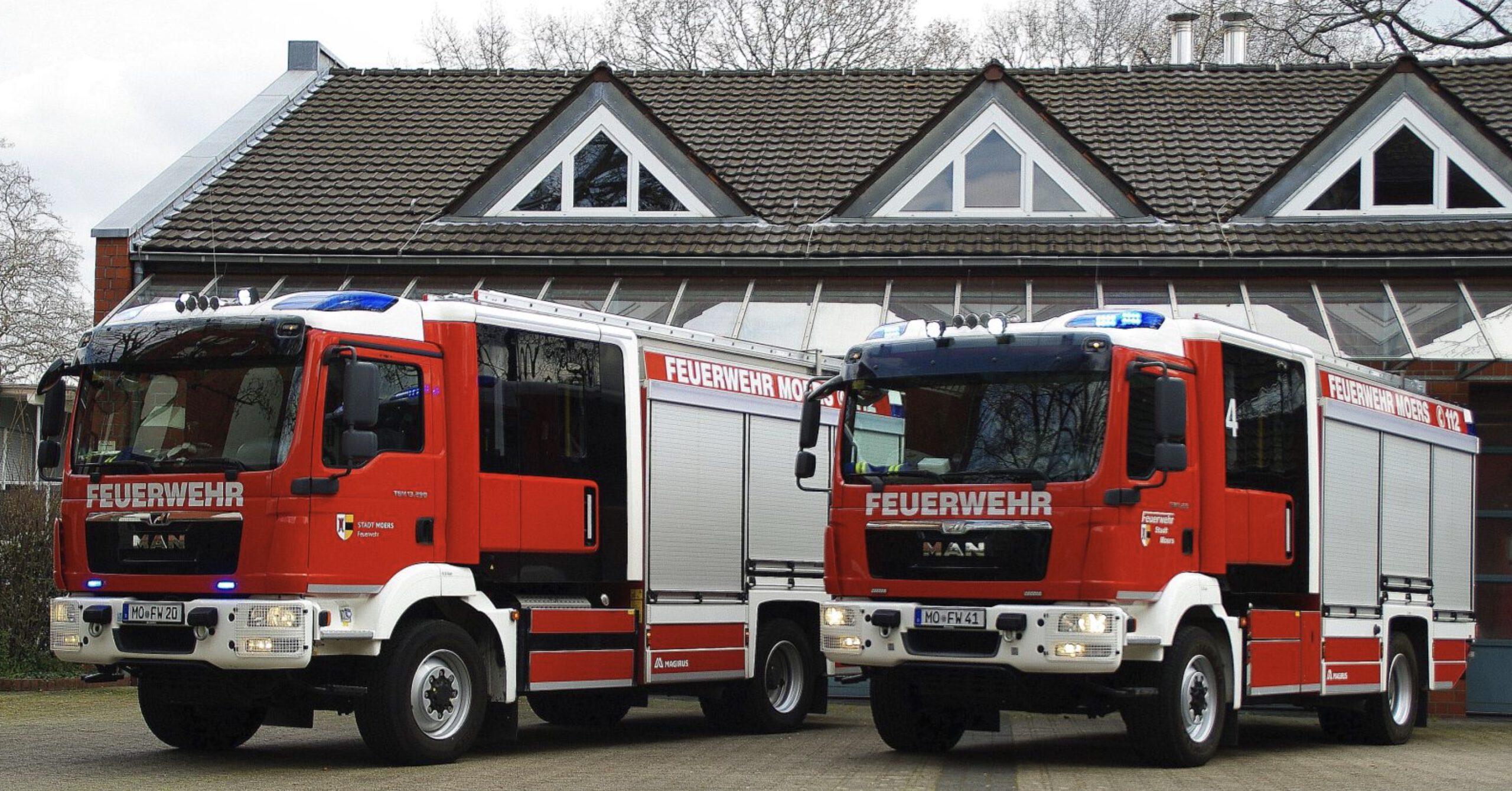 Neues Löschfahrzeug in Scherpenberg